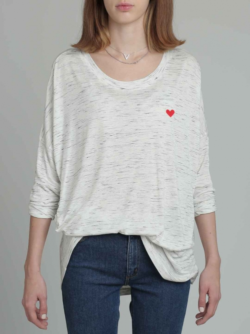 Red Heart oversize T